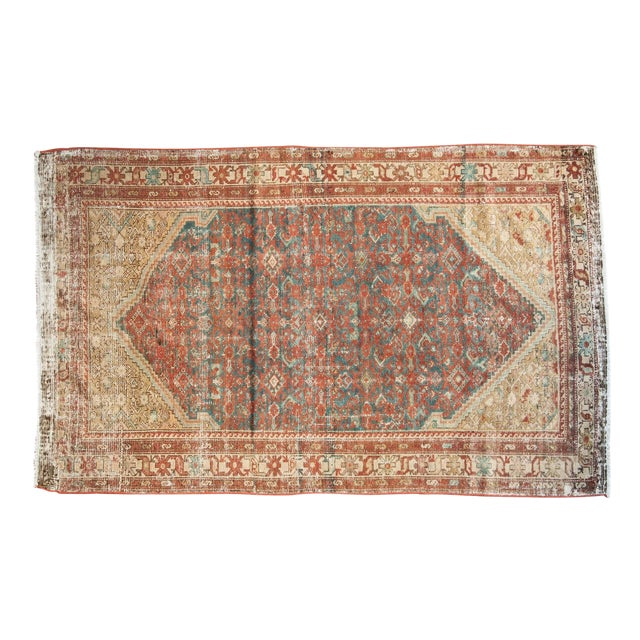"""Antique Malayer Rug - 4'1"""" x 6'7"""" - Image 1 of 10"""