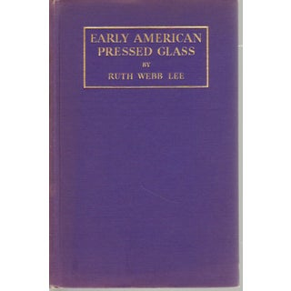 Early American Pressed Glass
