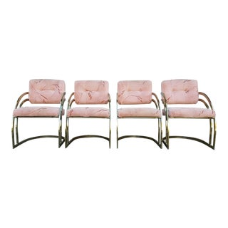 Vintage Milo Baughman Chairs- Set of 4