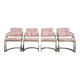 Vintage Milo Baughman Chairs- Set of 4