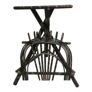 Adirondack Twig Smoking Table