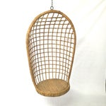 Image of 1960s Rohe Cane Hanging Chair