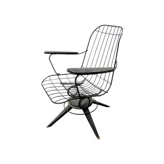 MCM Homecrest Eames Era Bertoia Style Wire Chair