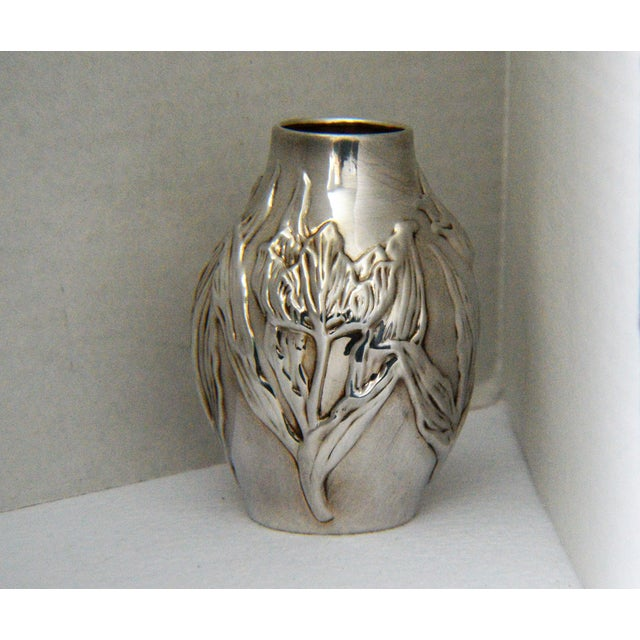 Louis Comfort Tiffany & Co.Sterling Silver Vase - Image 2 of 6