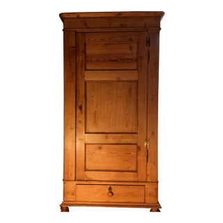 French Country Pine Armoire