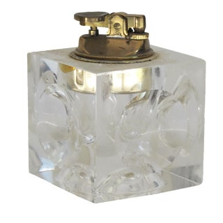 Clear Glass Box Lighter