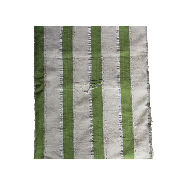 Vintage Striped African Textile - Image 4 of 4