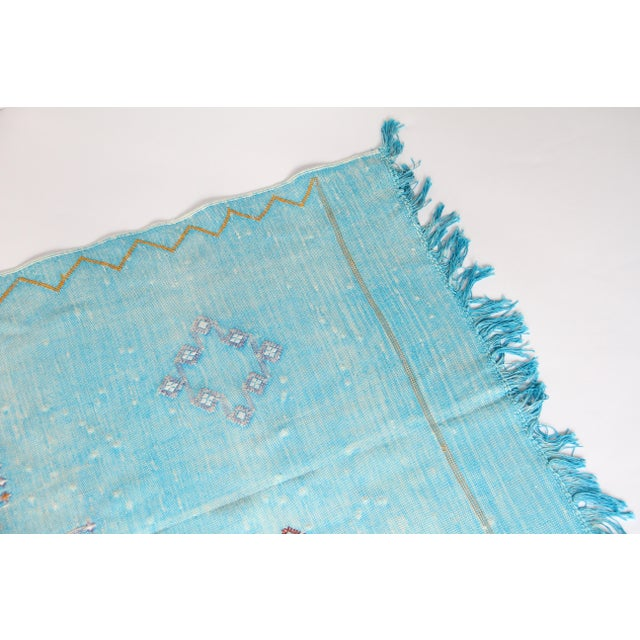 Moroccan Cactus Silk Carpet - 2′11″ × 4′11″ - Image 6 of 6