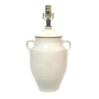 Rowe Pottery Ginger Jar Urn Table Lamp