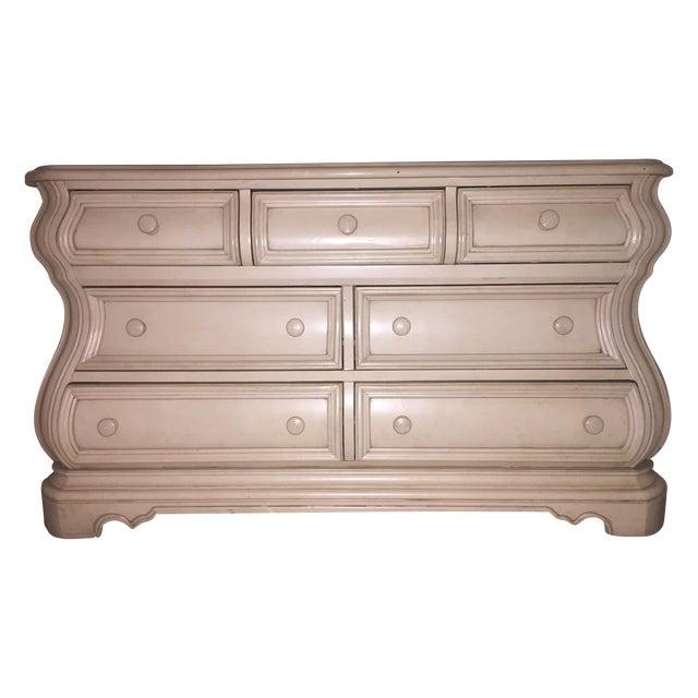 Almond Bombe-Style Dresser - Image 1 of 5