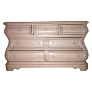 Almond Bombe-Style Dresser