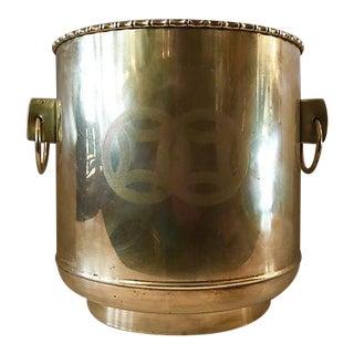 Oriental Brass Planter