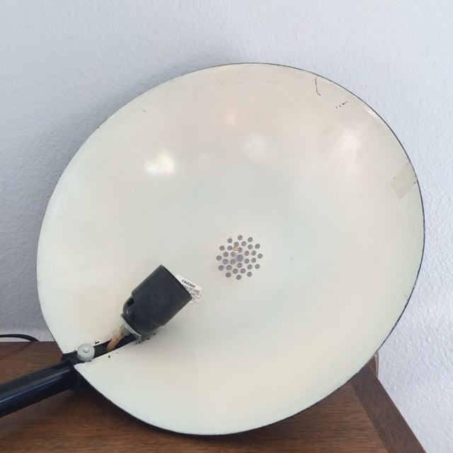 Vintage Black Metal Atomic Desk Lamp - Image 9 of 11
