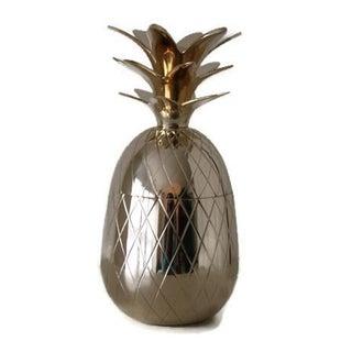 Brass Pineapple Box