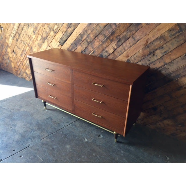Mid-Century Refinished 6-Drawer Dresser - Image 4 of 5