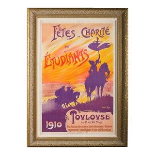 Fete De Charite Des Etudiantes French Opera Poster