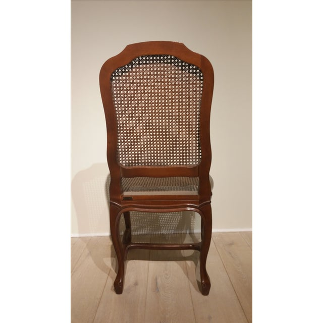 French Cane Back and Seat Side Chair - Image 5 of 6