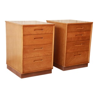 Edward Wormley for Dunbar Mid-Century Nightstands - A Pair