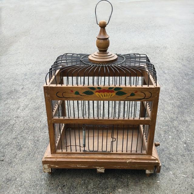 Mid-Century Bird Cage - Image 2 of 7