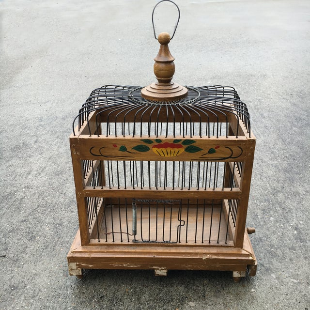 Image of Mid-Century Bird Cage