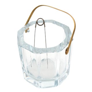 Cartier Art Deco Octagonal Crystal Ice Bucket