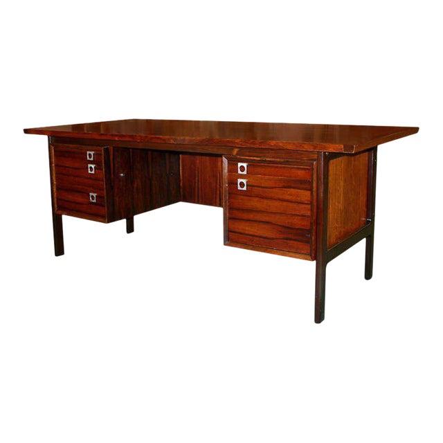 Arne Vodder Rosewood Executive Desk - Image 1 of 10