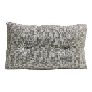 Grey Diamond Handloom Pillow