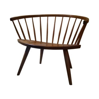 Vintage Swedish Yngve Ekstrom Arka Chair