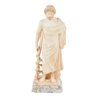 19th C. Italian Alabaster Figure