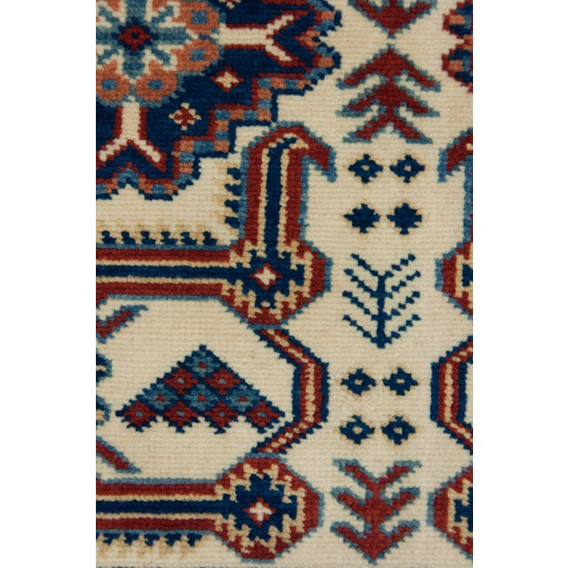 "New Traditional Hand Knotted Area Rug - 4'4"" x 6'2"" - Image 3 of 3"