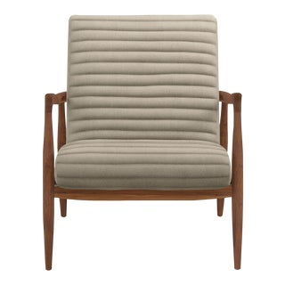 Callan Chair in Trip Linen