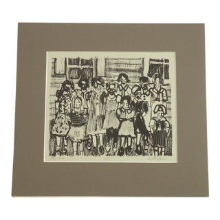 "Caroline Jones ""Little Girls"" Print"