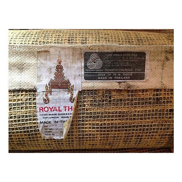Custom Made Royal Thai Rug - 9' x 10' - Image 3 of 4