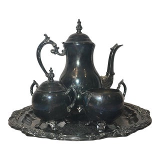 F. B. Rogers Silver Art Co. Tea Set - Set of 4