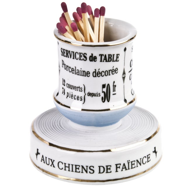 Vintage French Services De Table Match Striker - Image 1 of 5