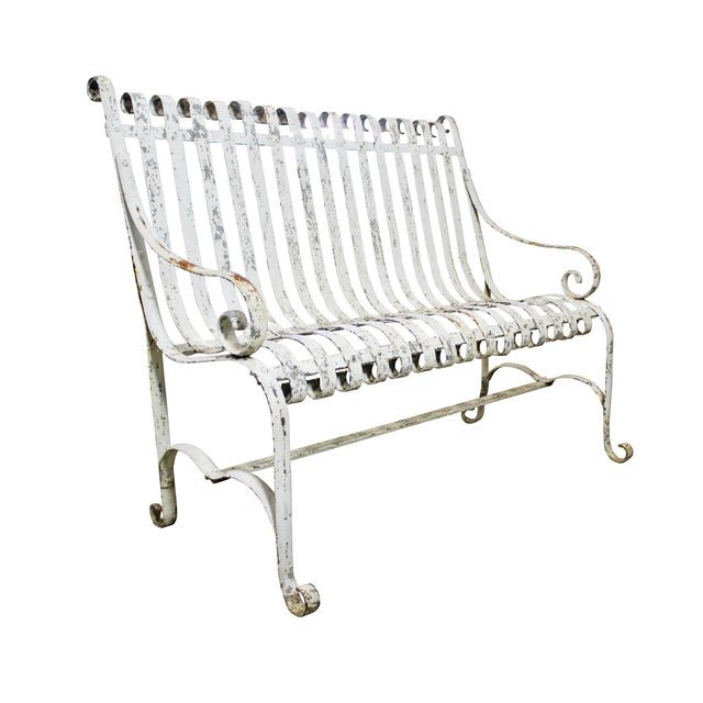 Cast Iron Garden Bench - Image 2 of 3