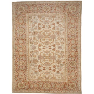 "Hand-Knotted Palatial Carpet - 14'6"" x 19'"