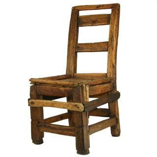 Antique Low Decorative Chair