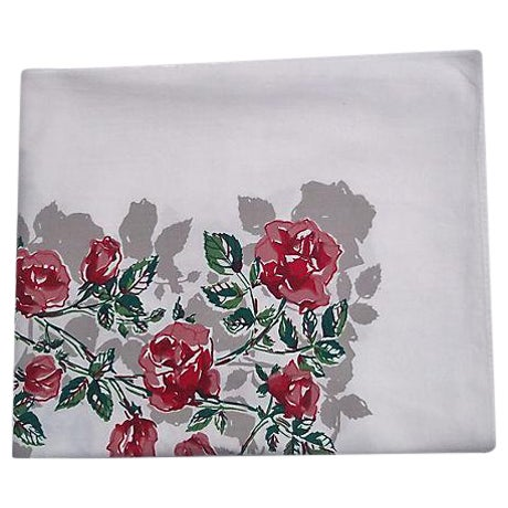 Vintage 1950s Tablecloth - Image 1 of 5