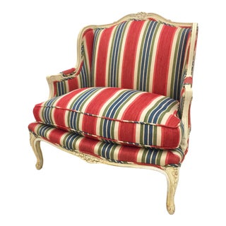 Brunschwig & Fils Upholstered Bergere Chair