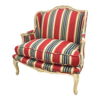 Brunschwig & Fils Upholstered Bergere Chair