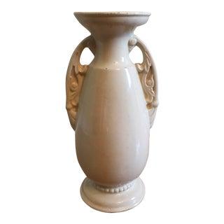 Cremeware Pottery Vase