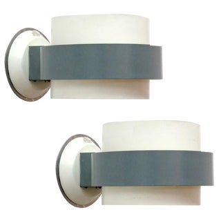 Philips Enameled Sconces - A Pair