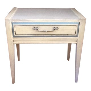 Hollywood Regency End Table, One of Two