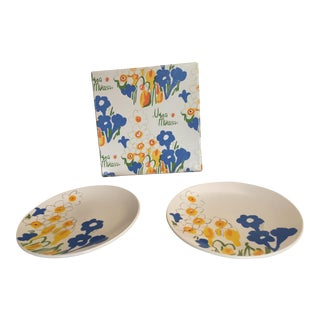 Vera Neumann for Mikasa Hors d'Oeuvres Set - Service for 2