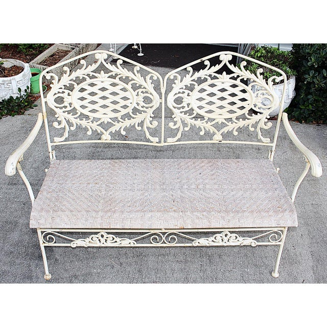 Image of Folding Cast Iron Bench