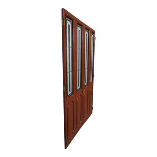 Closet Doors With Stained Glass - A Pair