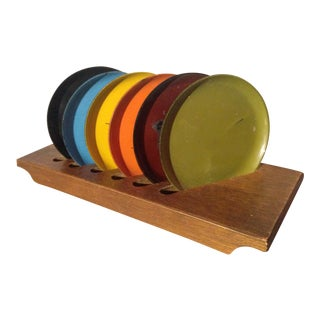 Davar Lacquerware Coasters - Set of 6