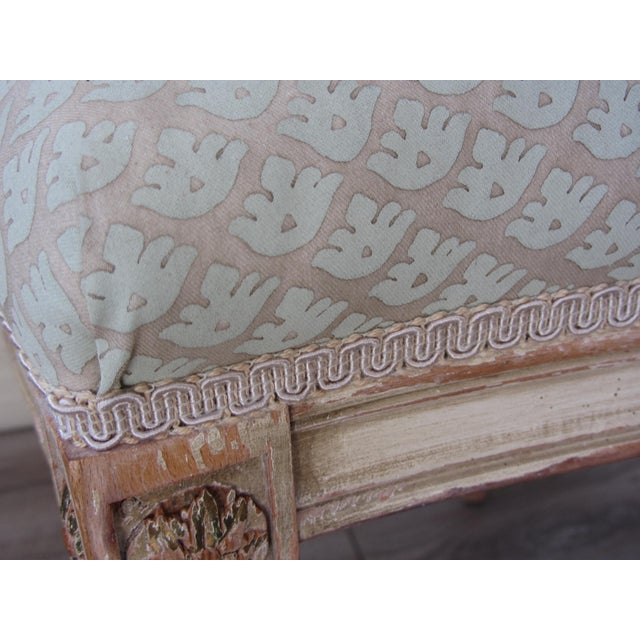 Neoclassical Hand Painted Italian Side Chairs - 2 - Image 4 of 6
