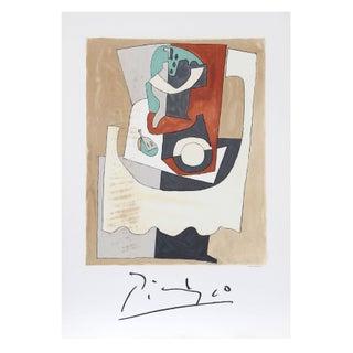 Pablo Picasso Nature Morte Au Gueridon Et a l'Ass